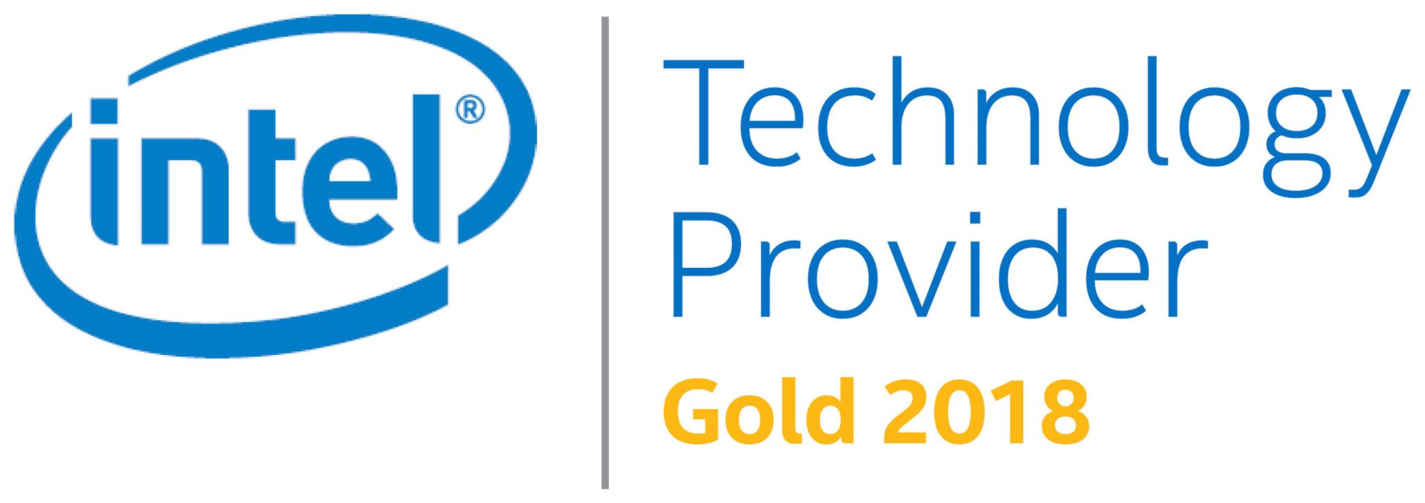 Intel Technology Provider - Gold 2018